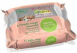 Savon à l'argile rouge naturelle - Ma Provence Nature Soap — Photo N1