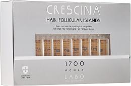 Parfums et Produits cosmétiques Traitement stimulant en ampoules à la cystéine, lysine et glycoprotéine pour cheveux - Crescina Hair Follicular Islands Re-Growth