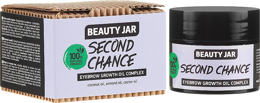 Beauty Jar Second Chance Eyebrow Growth Oil Complex - Complexe d'huiles pour croissance des sourcils