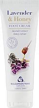 Parfums et Produits cosmétiques Crème à l'extrait de lavande et miel pour pieds - Bulgarian Rose Lavender And Honey Foot Cream