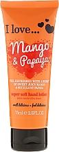 Parfums et Produits cosmétiques Lotion à l'extrait de mangue et papaye pour mains - I Love... Mango & Papaya Super Soft Hand Lotion
