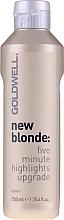 Lotion éclaircissante pour cheveux - Goldwell New Blonde Lotion — Photo N1