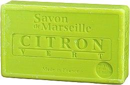 Parfums et Produits cosmétiques Savon de Marseille Citron et Lime - Le Chatelard 1802 Soap Lemon & Lime