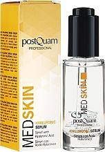 Parfums et Produits cosmétiques Sérum à l'acide hyaluronique pour visage - PostQuam Med Skin Hyaluronic Serum