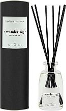Parfums et Produits cosmétiques Bâtonnets parfumés, Thé noir de goji, design noir - Ambientair The Olphactory Black Wandering Goji Black Tea