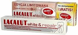 Parfums et Produits cosmétiques Coffret cadeau - Lacalut White & Repair Set (t/paste/75ml+dental/floss)