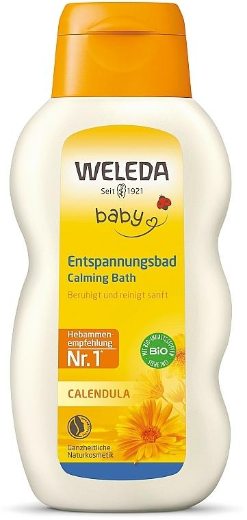 Lotion de bain au calendula - Weleda Calendula-Bad — Photo N1