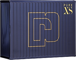 Parfums et Produits cosmétiques Paco Rabanne Pure XS - Coffret (eau de toilette/50ml + gel douche/100ml)