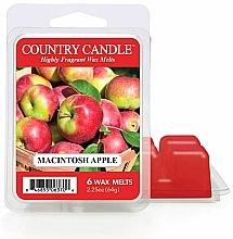 Parfums et Produits cosmétiques Cire parfumée pour lampe aromatique - Country Candle Macintosh Apple Wax Melts