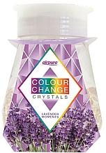 Parfums et Produits cosmétiques Désodorisant en gel avec cristaux, Lavande - Airpure Colour Change Crystals Lavender Moments