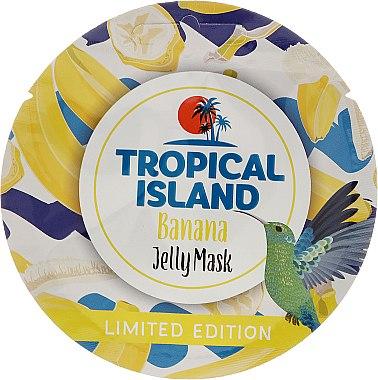 Masque à l'extrait de fleur de bananier, citron et centella pour le visage - Marion Tropical Island Banana Jelly Mask