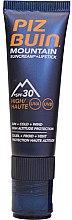 Parfums et Produits cosmétiques Crème solaire + baume à lèvres spécial montagne SPF 30 - Piz Buin Mountain Suncream + Lipstick SPF30