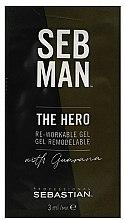 Parfums et Produits cosmétiques Gel remodelable pour cheveux - Sebastian Professional Seb Man The Hero (mini)