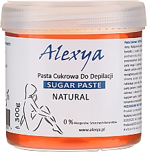 Parfums et Produits cosmétiques Pâte épilatoire au sucre - Alexya Sugar Paste For Depilation Natural