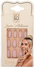 Parfums et Produits cosmétiques Set faux ongles - Sosu by SJ False Nails Medium Stiletto Laura Anderson Dainty