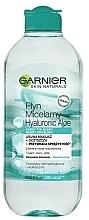 Parfums et Produits cosmétiques Eau micellaire à l'acide hyaluronique - Garnier Skin Naturals Hyaluronic Aloe Micelar