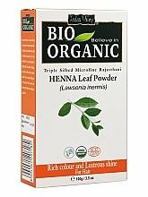 Parfums et Produits cosmétiques Poudre de feuilles de henné pour cheveux - Indus Valley Bio Organic Henna Leaf Powder