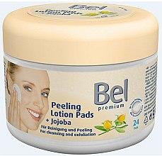 Parfums et Produits cosmétiques Disques démaquillants nettoyants au jojoba - Bel Premium Peeling Lotion Jojoba Pads