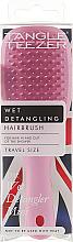Parfums et Produits cosmétiques Brosse à cheveux démêlante - Tangle Teezer The Wet Detangler Mini Baby Pink Sparkle
