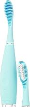 Parfums et Produits cosmétiques Brosse à dents sonique avec tête de remplacement - Foreo Issa 2 Sensitive Set Mint