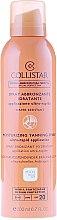 Parfums et Produits cosmétiques Spray bronzant à l'extrait de jojoba et tamanu pour corps - Collistar Moisturizing Tanning Spray SPF20 200ml