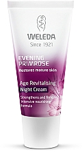 Parfums et Produits cosmétiques Crème de nuit à l'huile d'onagre - Weleda Evening Primrose Age Revitalizing Night Cream