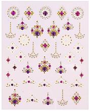 Parfums et Produits cosmétiques Autocollants décoratifs pour ongles, 1 pcs - Peggy Sage Decorative Nail Stickers Luxury