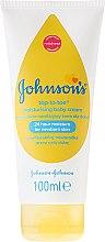 Parfums et Produits cosmétiques Crème hydratante corps et visage pour bébé - Johnson's Baby Top-To-Toe Cream