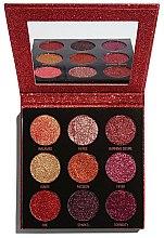 Parfums et Produits cosmétiques Palette de paillettes pressées - Makeup Revolution Pressed Glitter Palette Hot Pursuit