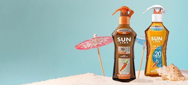 Remise sur les articles promotionnels Sun Like. Les prix sur le site sont indiqués avec des réductions