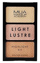 Parfums et Produits cosmétiques Palette d'enlumineurs - MUA Light Lustre Trio Highlight