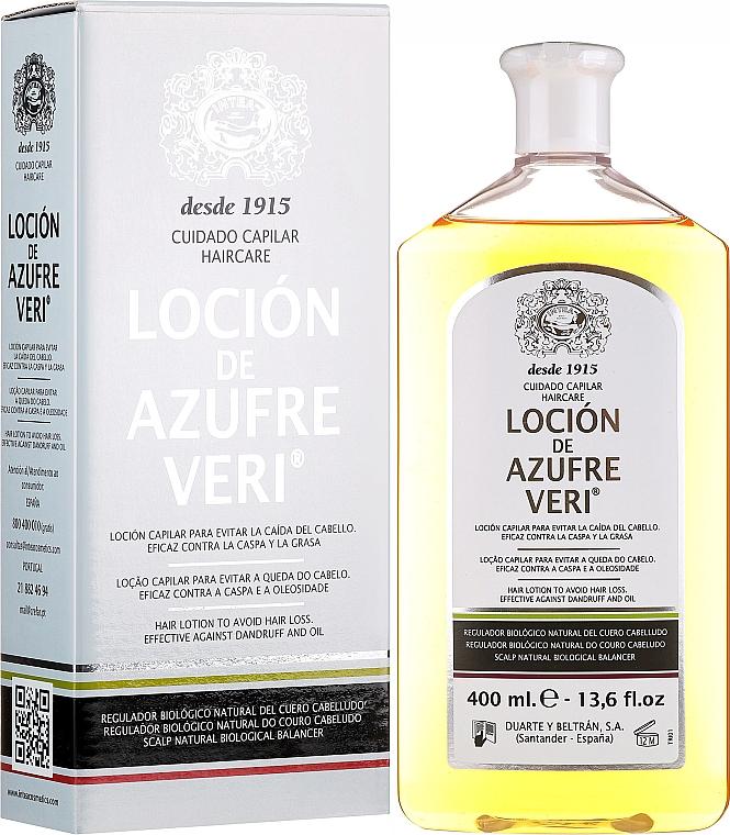 Lotion à l'huile de ricin pour cheveux - Intea Azufre Veri