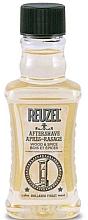 """Parfums et Produits cosmétiques Baume après-rasage, """"Bois et épices"""" - Reuzel After Shave Lotion Wood And Spice"""