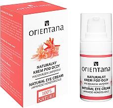 Parfums et Produits cosmétiques Crème éclaircissante au complexe naturel pour contour des yeux - Orientana Bio Eye Cream