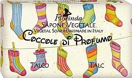 Parfums et Produits cosmétiques Savon végétal pour enfants, Talc - Florinda Sapone Talc