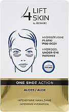Parfums et Produits cosmétiques Patchs contour des yeux hydratants à l'aloe vera - Lift4Skin Hydrogel Under-Eye Patches Aloe