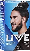 Parfums et Produits cosmétiques Colocation permanente pour cheveux - Schwarzkopf Live Men Permanent Colour