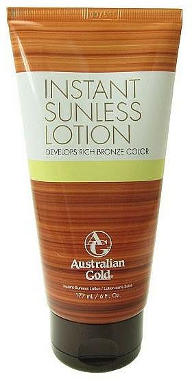 Lotion autobronzante - Australian Gold Instant Sunless Self-tanning Lotion — Photo N1