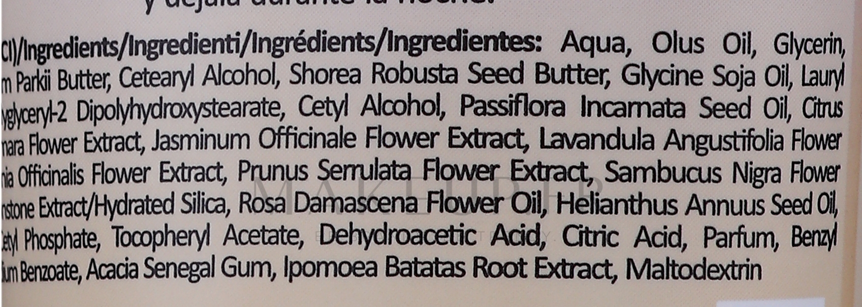 Masque pour corps - Fluff Superfood Lavender Rose Sleeping Overnight Body Mask — Photo 150 ml