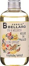 Parfums et Produits cosmétiques Huile de massage amincissante aux fruits pour corps - Fergio Bellaro Massage Oil