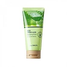Parfums et Produits cosmétiques Mousse nettoyante à l'aloe vera pour visage - The Saem Jeju Fresh Aloe Cleansing Foam