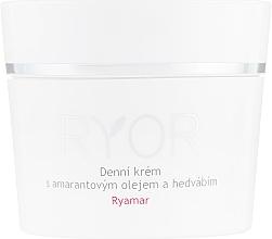 Parfums et Produits cosmétiques Crème de jour à l'huile d'amarante et à l'extrait de soie - Ryor Ryamar