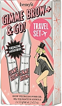Parfums et Produits cosmétiques Coffret cadeau - Benefit Gimme Brow & Go Set (mascara/3gx2) (03 -Medium Light)