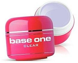 Parfums et Produits cosmétiques Gel de construction, incolore - Silcare Base One Clear