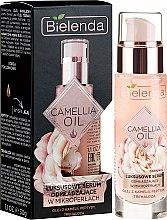 Parfums et Produits cosmétiques Sérum luxueux à l'huile de camélia, tréhalose et peptide - Bielenda Camellia Oil Luxurious Rejuvenating Serum