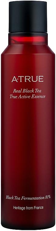 Essence active au thé noir pour visage - A-True Real Black Tea True Active Essence — Photo N2