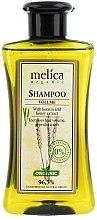 Parfums et Produits cosmétiques Shampooing à la kératine et miel - Melica Organic Volume Shampoo