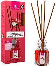 Parfums et Produits cosmétiques Bâtonnets parfumés, Pomme et Cannelle - Cristalinas Reed Diffuser