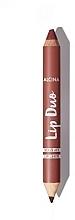 Parfums et Produits cosmétiques Alcina Lip Duo Lipstick - Duo crayon et rouge à lèvres