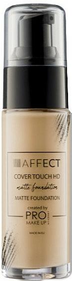 Fond de teint matifiant - Affect Cosmetics Cover Touch Matte Foundation